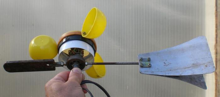 Анемометр своими руками из мышки 1055